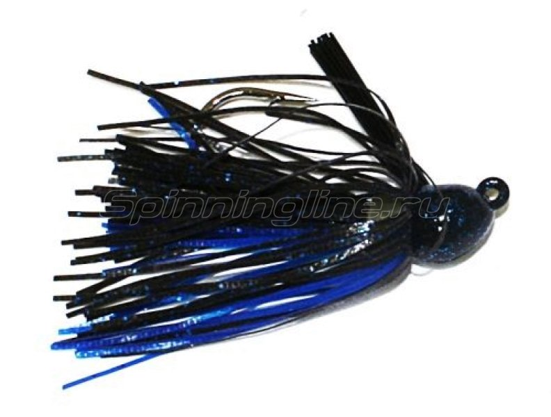 Strike King - Bitsy Flip Jig 7�� black/blue - ���������� 1