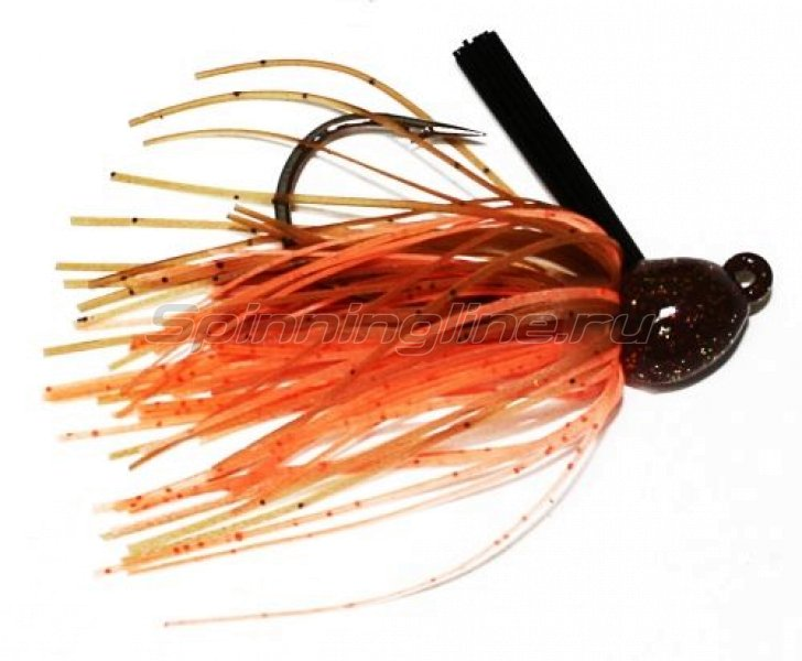 Strike King - Bitsy Flip Jig 7гр pumpkin craw - фотография 1