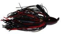 Флиппинговая джигголовка Strike King Bootlegger Jig 17гр black/red