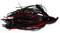 Флиппинговая джигголовка Strike King Bootlegger Jig 14гр black/red