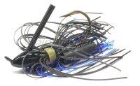 Флиппинговая джигголовка Strike King Bootlegger Jig 14гр black/blue