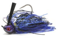Premier Elite Jig 15гр black/blue/purple flash