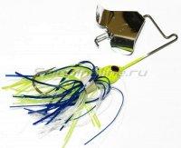 Баззбейт Mini Pro-Buzz 3,5гр chartreuse/blue skirt silver blade