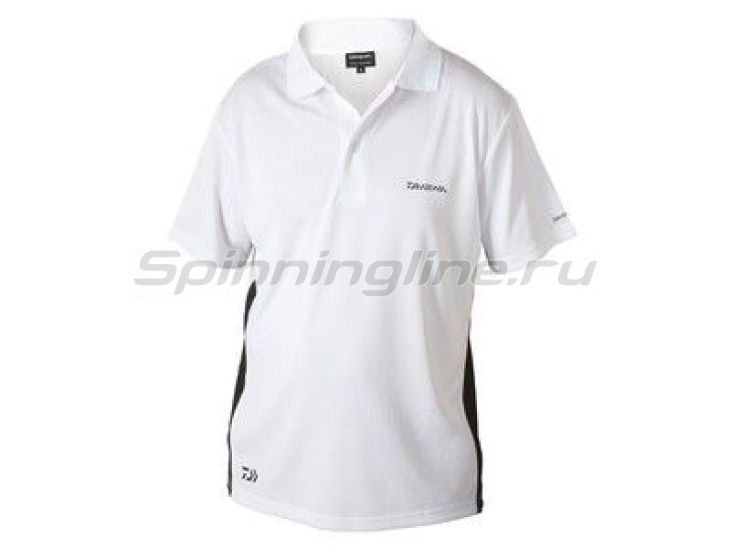 Футболка Daiwa Polo Shirts White XXL - фотография 1