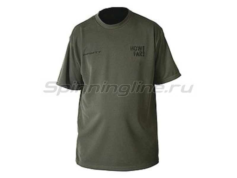 Футболка Daiwa Infinity How Far Shirt L - фотография 1