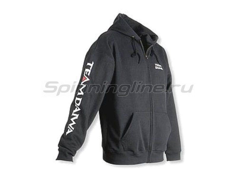 Team Daiwa Zipper Hoodie Black M - фотография 1