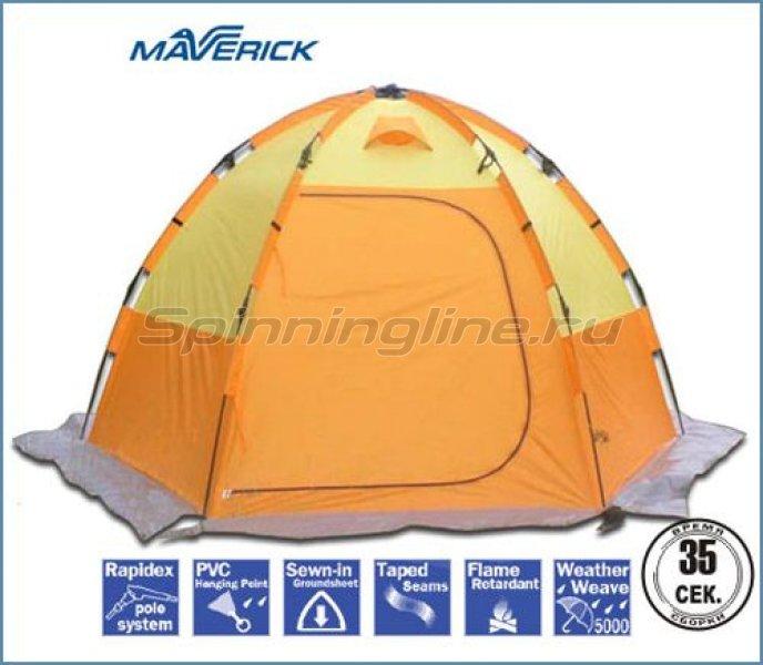 Палатка зимняя Maverick Ice Fishing №5 orange/yellow -  1