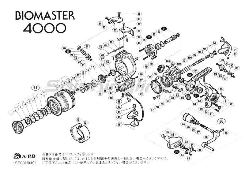 Катушка Biomaster 4000 -  2