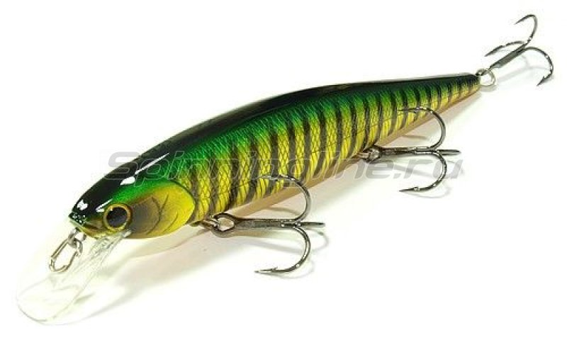 Lucky Craft - Воблер Slender Pointer 127MR Aurora Green Perch 280 - фотография 1