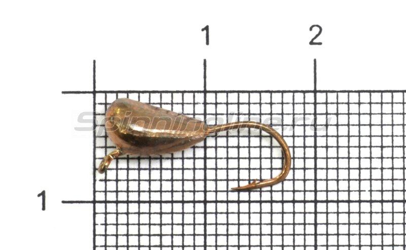 Lumicom - Мормышка Лещевая d6 медь - фотография 1