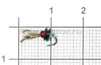 Мормышка Безмотылка №3 капля с ушком d3.2 никель