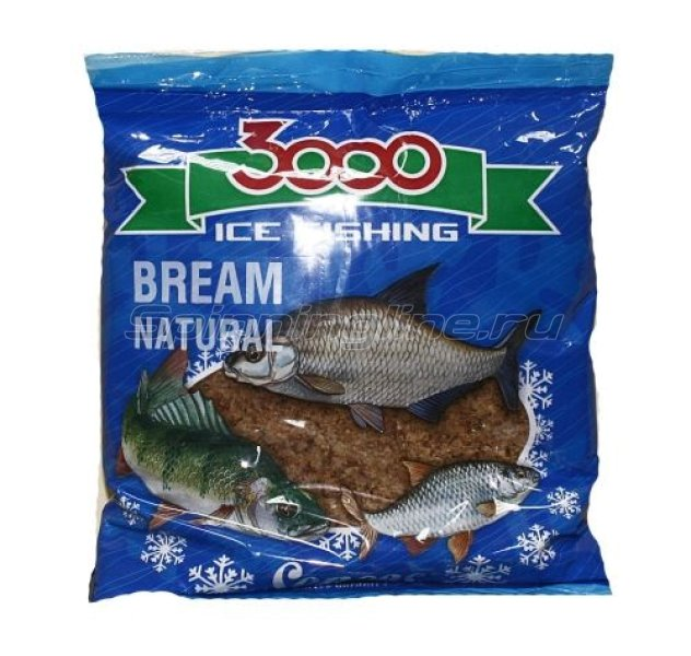 Прикормка Sensas 3000 Bream Natural 0,5 кг - фотография 1