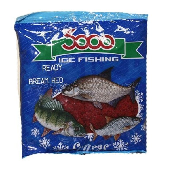 Прикормка Sensas 3000 Bream Red 0,5 кг - фотография 1