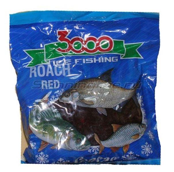 Прикормка Sensas 3000 Roach Red 0,5 кг - фотография 1