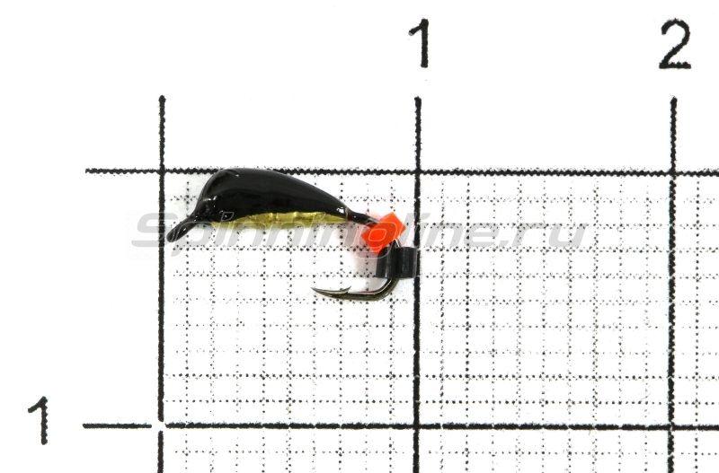 Санхар - Мормышка Овсинка №1 латунь - фотография 1