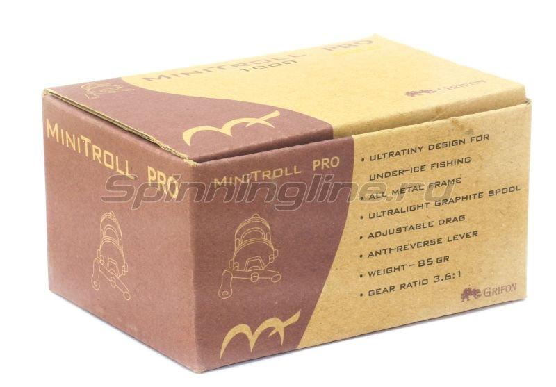 Катушка Grifon Mini Troll Pro Gold -  6