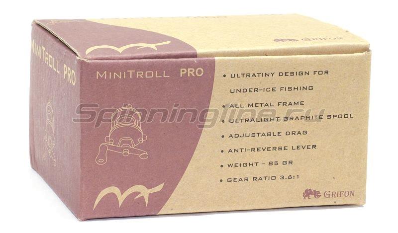 Катушка Grifon Mini Troll Pro Silver - фотография 5