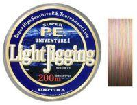 Плетеный шнур Unitika Univenture Light Jigging
