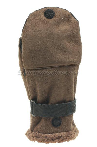 Перчатки-варежки ветрозащитные Norfin 75 отстегивающиеся XL - фотография 1