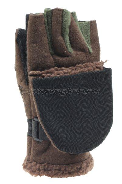 Перчатки-варежки ветрозащитные Norfin 75 отстегивающиеся XL - фотография 2
