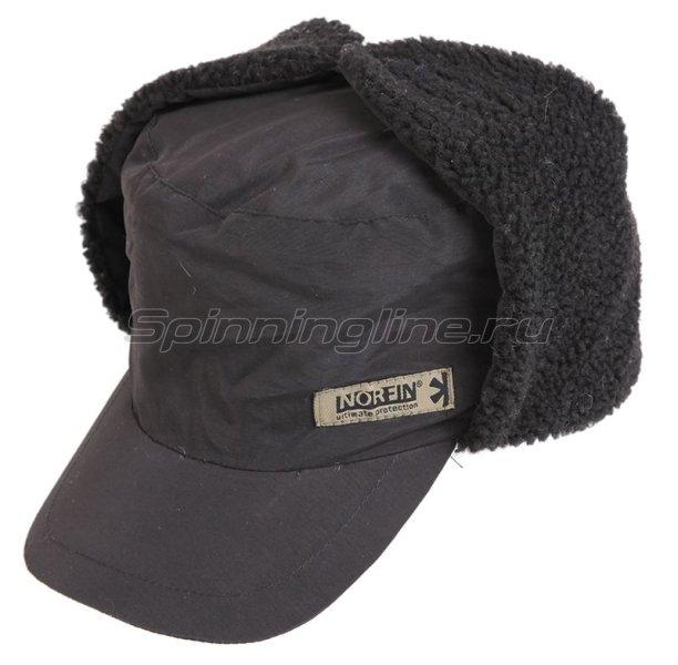 Шапка-ушанка Norfin Inari black XL - фотография 1