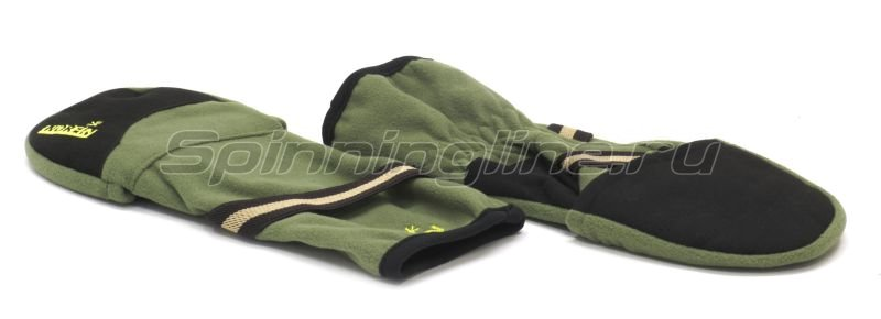 Перчатки-варежки Norfin отстегивающиеся L -  4