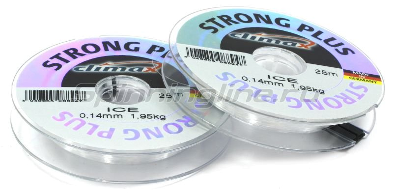 Climax - Леска Strong Plus Ice 25м 0,20мм - фотография 1