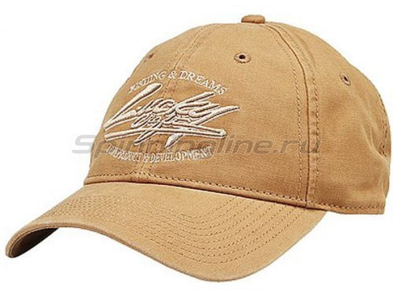 Кепка Lucky Craft Professional Cap Brown - фотография 1