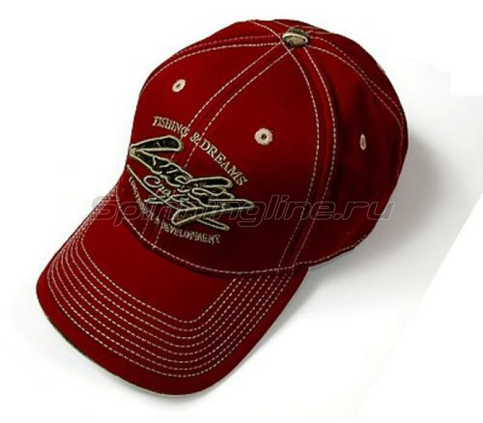 Кепка Lucky Craft Professional Cap Red - фотография 1