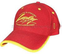 Кепка Lucky Craft Racing Flex Fit Cap Red Yellow