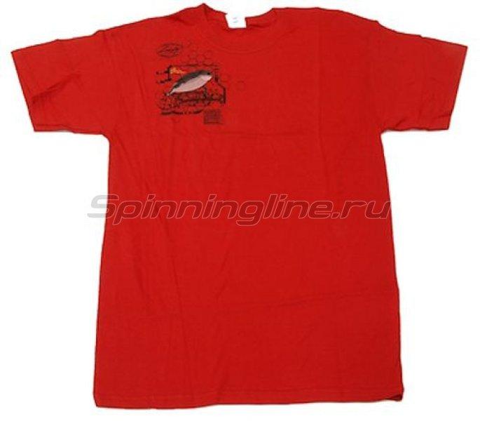 Футболка Lucky Craft T-Shirts Red XXL - фотография 1