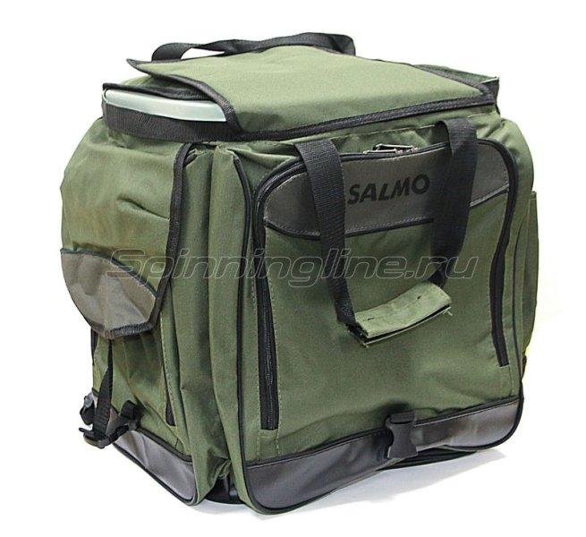 Ящик-рюкзак рыболовный Salmo 61, арт. H-2061 – купить по цене 4397 рублей в Москве и по всей России в рыболовном интернет-магазине Spinningline
