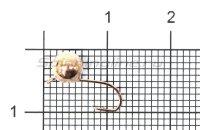 Мормышка Дробинка с ушком d5.5 медь