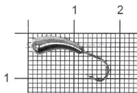 Мормышка Уралка d5 черный никель