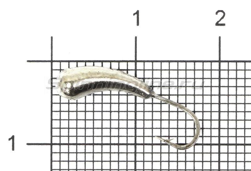Lumicom - Мормышка Уралка d5 никель - фотография 1