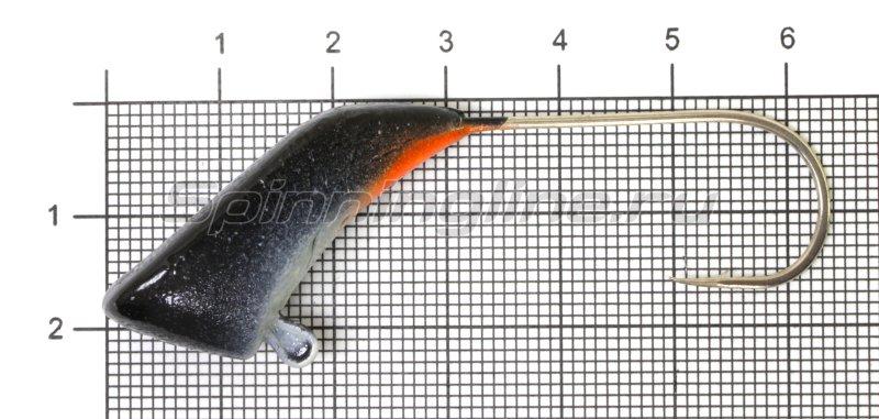 Fish Gold - Мормышка судаковая Башмачок 28гр черный - фотография 1