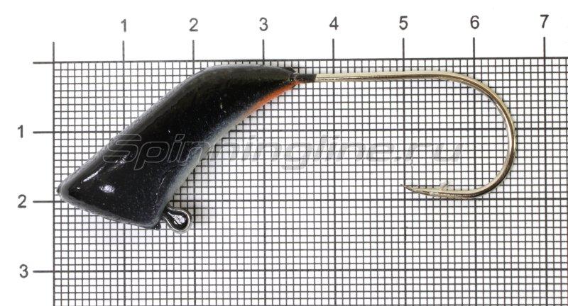 Fish Gold - Мормышка судаковая Башмачок 32гр черный - фотография 1