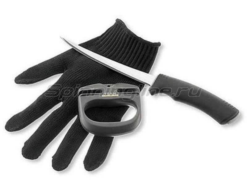 Набор инстументов Cormoran Team: нож, точило, перчатка - фотография 1