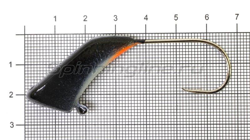 Fish Gold - Мормышка судаковая Башмачок 40гр черный - фотография 1