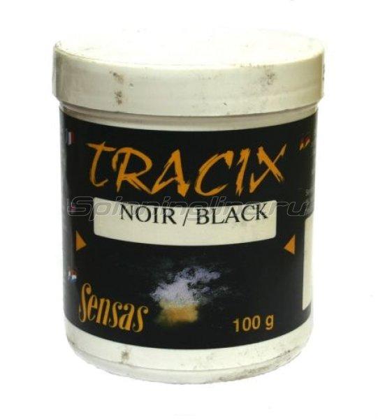 Краска для прикормки Sensas Tracix Black 0,1 кг -  1