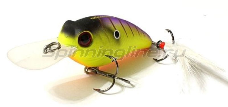 Воблер Belly Shad FD Yellow Striper -  1