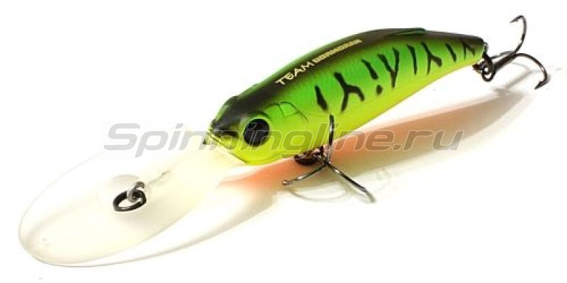 Воблер Hisaka Deep Shad F Fire Tiger -  1
