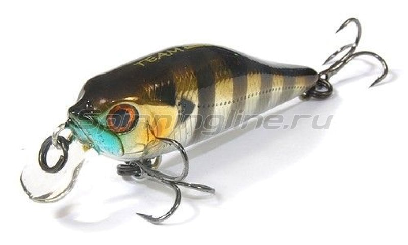 Cormoran - Воблер Shallow Baby Shad F Chrome Perch - фотография 1