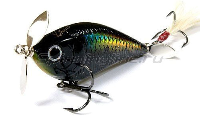 Lucky Craft - Воблер Kelly J Jr. MS Black 247 - фотография 1