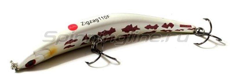 Воблер ZigZag Min 110F S24 -  1