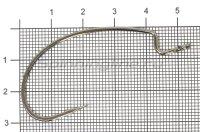 Крючок Decoy Kig Hook Worm 17 №5/0