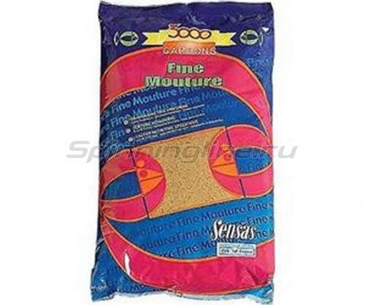 Прикормка Sensas 3000 Gardon Fine Mouture 1 кг -  1