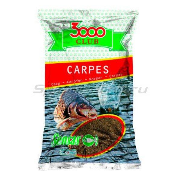 Прикормка Sensas 3000 Club Carp 2,5 кг -  1