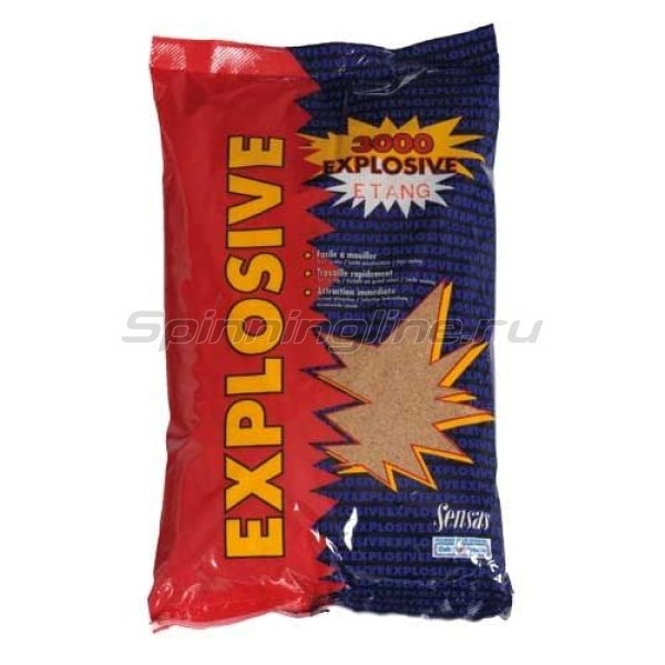 Прикормка Sensas 3000 Explosive Roach/Lake 1 кг - фотография 1