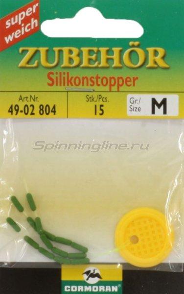 Стопор Cormoran Silicone Stopper Olive Long S - фотография 1